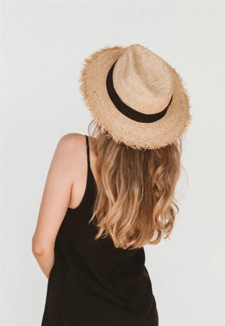 Шляпа Федора, солома - фото 77549