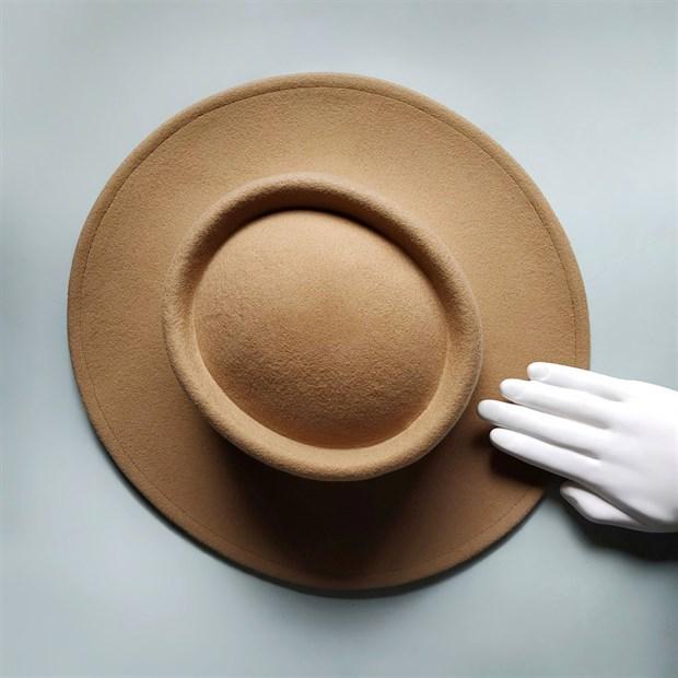 Шляпа фетровая Tilda - фото 77782