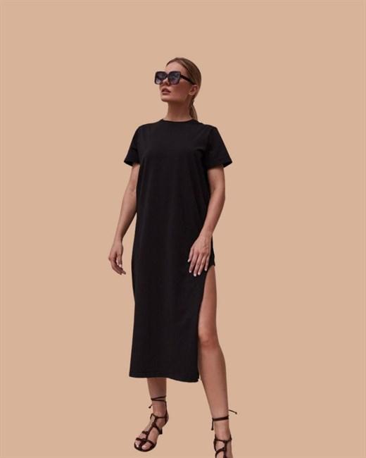 Платье-футболка - фото 83320