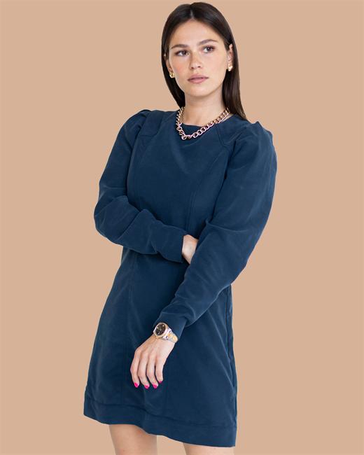 Платье с объемными рукавами - фото 85018