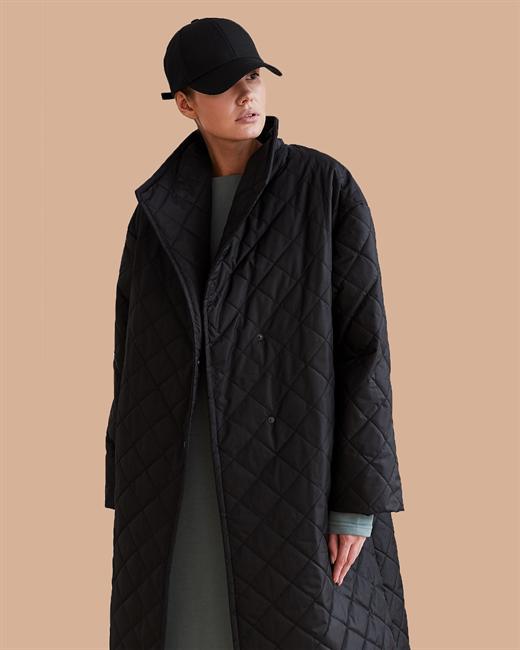 Пальто стеганое - фото 85190