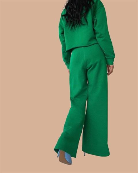 Костюм (свитшот+брюки палаццо)