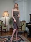 Двустороннее платье комбинация с поясом - фото 72511