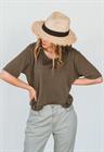Шляпа Федора, солома - фото 77550