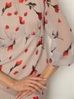 Платье шифоновое с принтом - фото 79111
