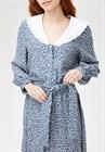 Платье с отложным воротником, вискоза, D0221004 - фото 82466