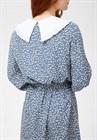Платье с отложным воротником, вискоза, D0221004 - фото 82467