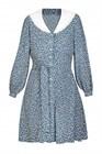 Платье с отложным воротником, вискоза, D0221004 - фото 82471