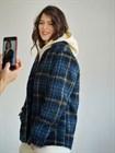 Пальто-рубашка, клетка, ткань Roberto Cavalli - фото 82745