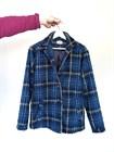Пальто-рубашка, клетка, ткань Roberto Cavalli - фото 82748