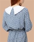 Платье с отложным воротником, вискоза, D0221004 - фото 83714